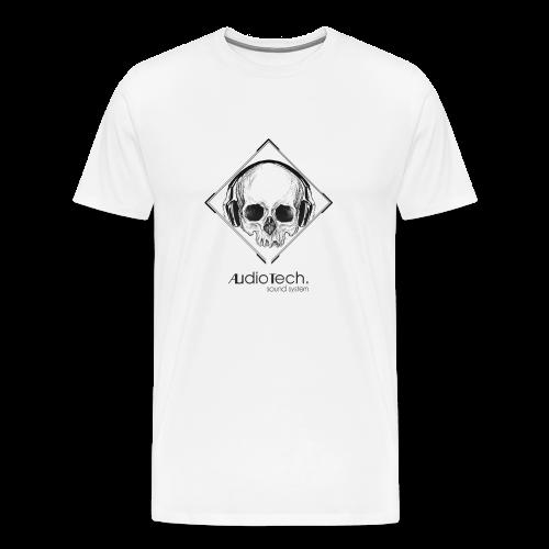 © Audiotech Skull - Männer Premium T-Shirt