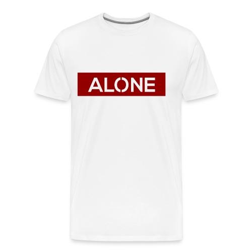 Alone RED Edition - Maglietta Premium da uomo