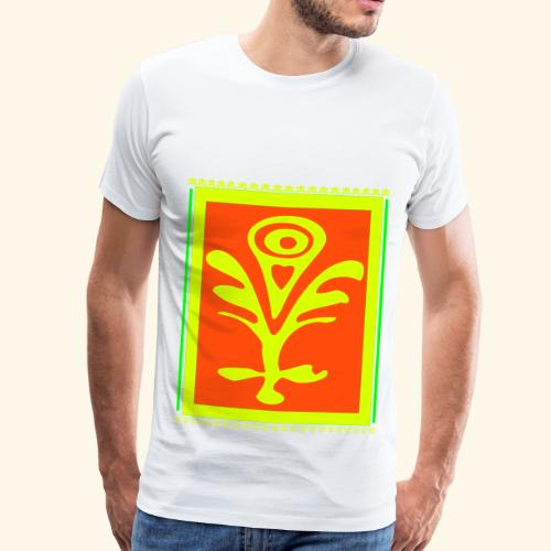 Neon Design - Männer Premium T-Shirt
