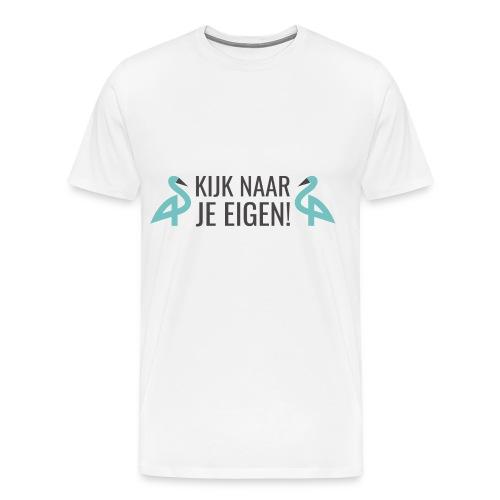 GennepNews - Kijk naar je eigen! - Mannen Premium T-shirt