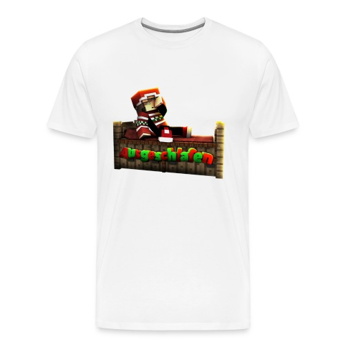 #Ausgeschlafen Weihnachts-Hoddie - Männer Premium T-Shirt