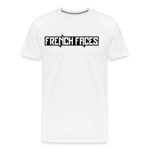 French Faces - Mannen Premium T-shirt