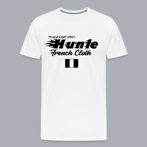 hunle Flame - T-shirt Premium Homme