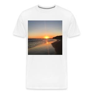 coucher de soleil - T-shirt Premium Homme