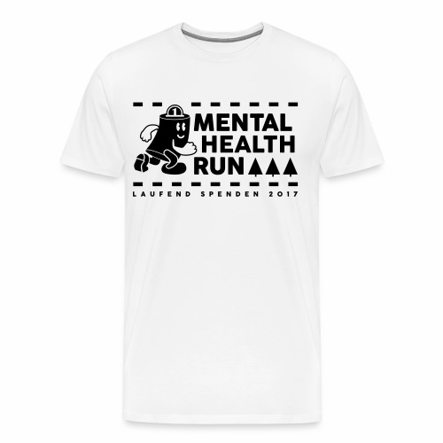 mental healt run - Männer Premium T-Shirt