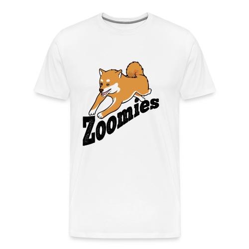 Zoomies Red Shiba - Men's Premium T-Shirt