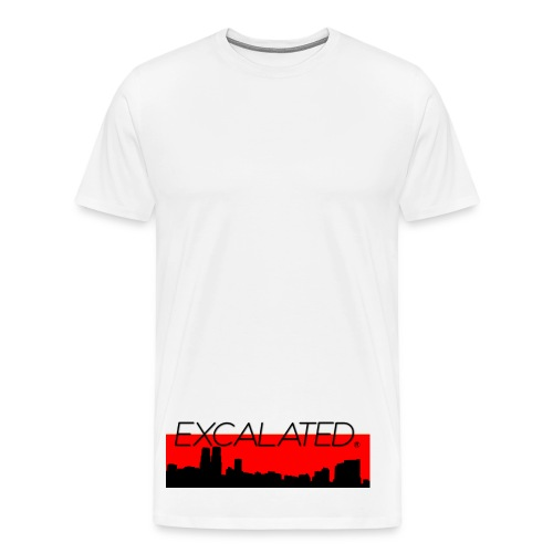 Excalated Skyline - Männer Premium T-Shirt