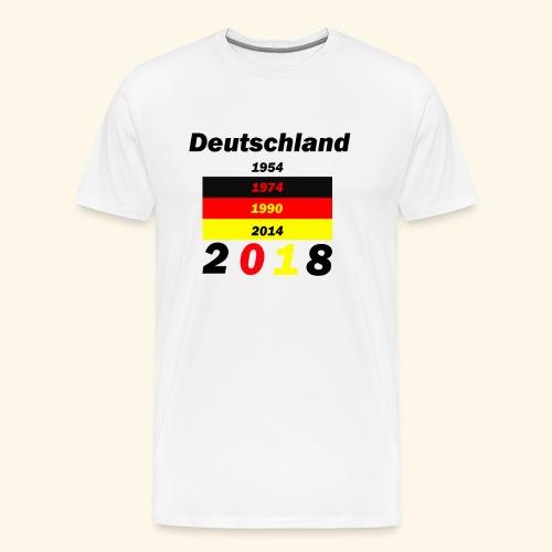 Deutschland Weltmeisterschaft - Männer Premium T-Shirt