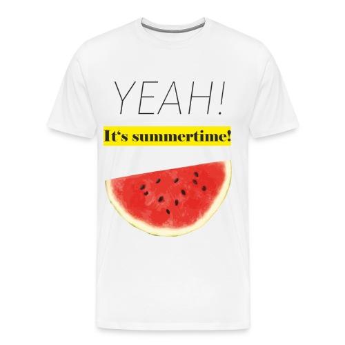 Melone - It's summertime - Männer Premium T-Shirt