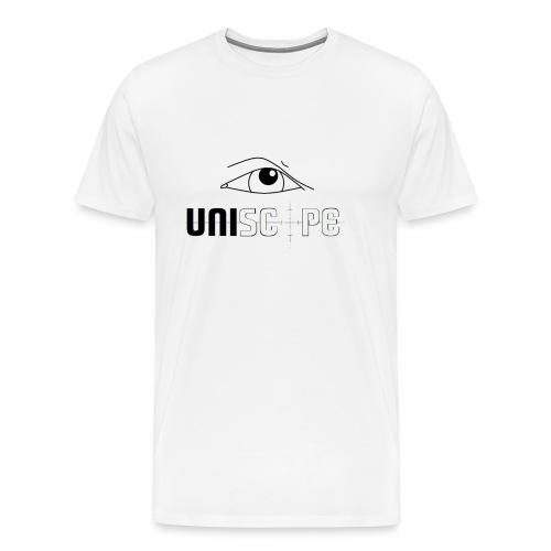 UNISCOPE - LOGO - Männer Premium T-Shirt