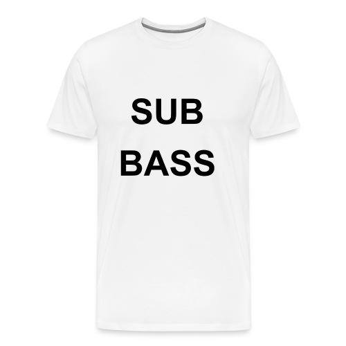 sub bass - Mannen Premium T-shirt