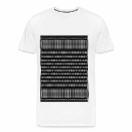 Moire III [Noir] - T-shirt Premium Homme