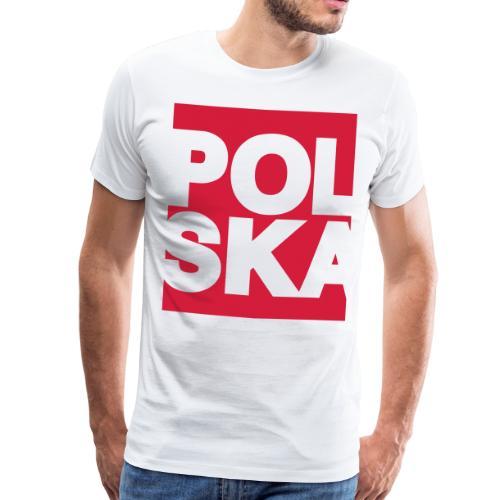 Prezent Polska Polska Polska Polska - Koszulka męska Premium