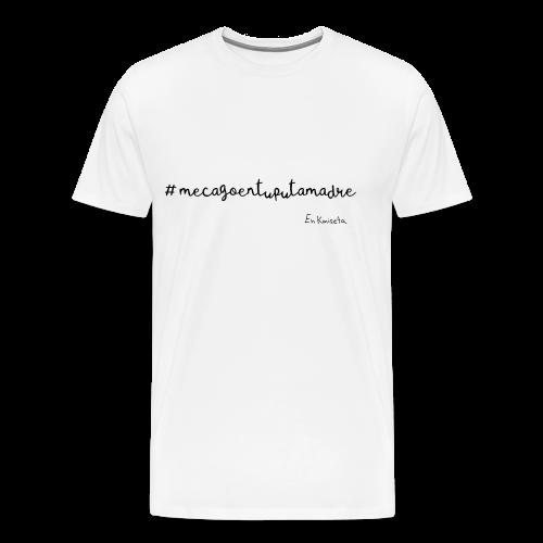 mecago - Camiseta premium hombre