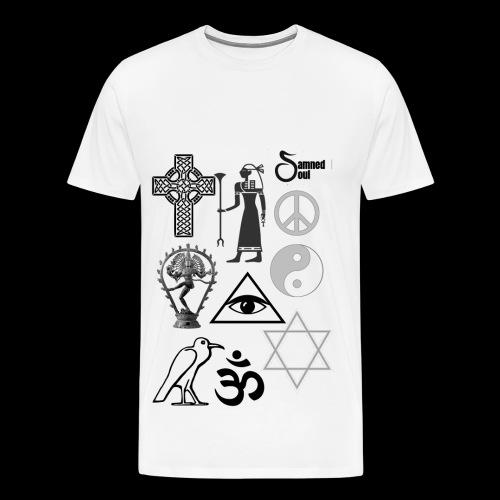 Religous symbols - Men's Premium T-Shirt