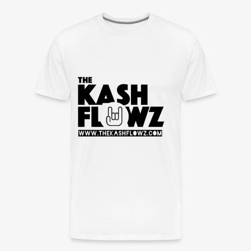 The Kash Flowz Official Web Site Black - T-shirt Premium Homme