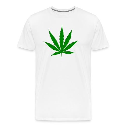 weed logo - Männer Premium T-Shirt