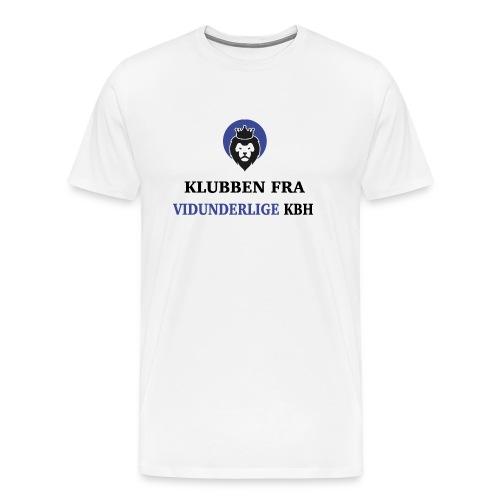 Klubben fra vidunderlige KBH (Kun få tilbage!) - Herre premium T-shirt