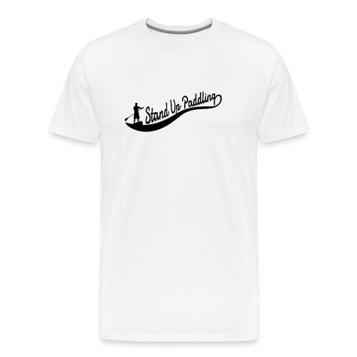 Stand Up Paddling - Wave - boy - Männer Premium T-Shirt