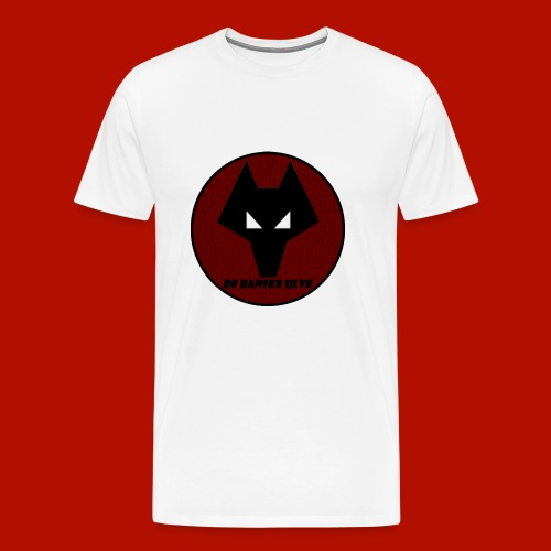 De Danske Ulve Covor 6/6S Plus - Herre premium T-shirt