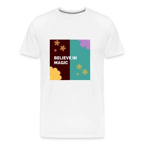 believe in magic xx - Men's Premium T-Shirt