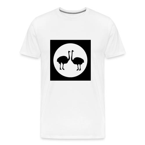 Strauß - Männer Premium T-Shirt