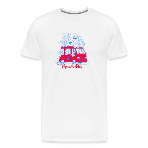 Monsterbus Libero - Männer Premium T-Shirt