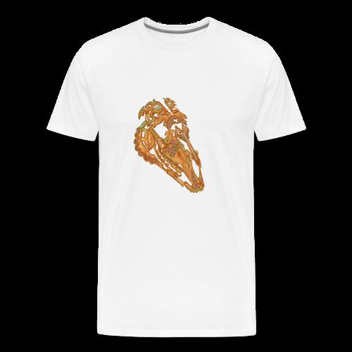 Crâne Dentelle - T-shirt Premium Homme