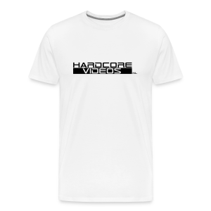 Hardcorevideos.nl logo - Mannen Premium T-shirt