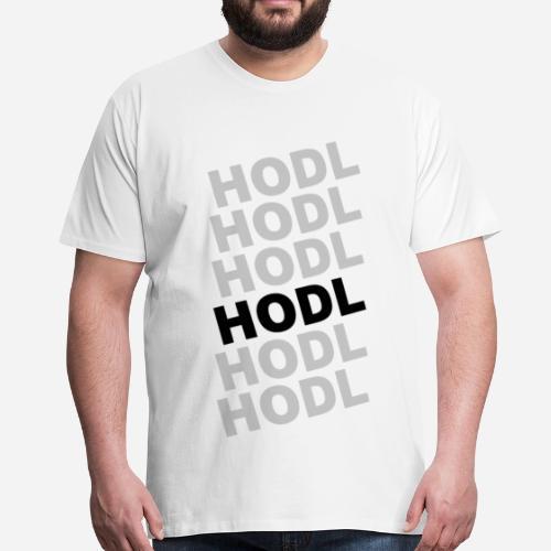 Bitcoin Hodl - Camiseta premium hombre