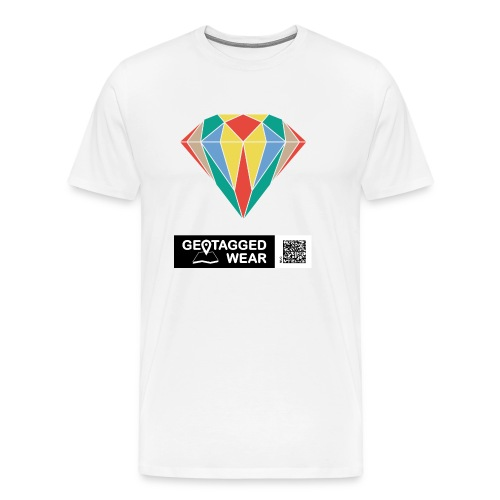 Unisex Diamond Pantone Colored - Männer Premium T-Shirt