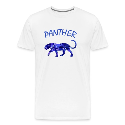 Purpel Panther - Männer Premium T-Shirt