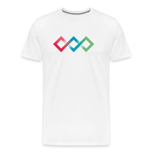 Fluo Diamonds - Men's Premium T-Shirt
