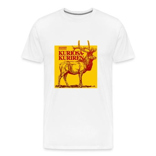 Stiliserad älg - Premium-T-shirt herr