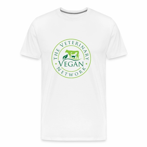 Veterinary Vegan Network Logo - Men's Premium T-Shirt