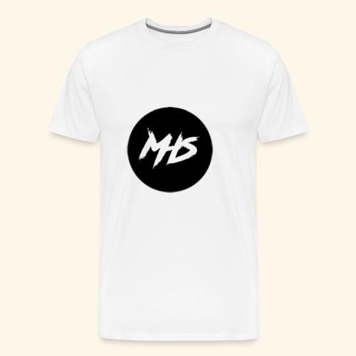 Watermerk - Zwart - Mannen Premium T-shirt