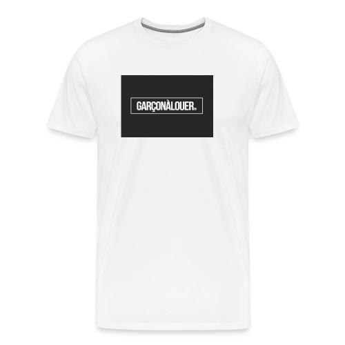 GARÇONÀLOUER - T-shirt Premium Homme