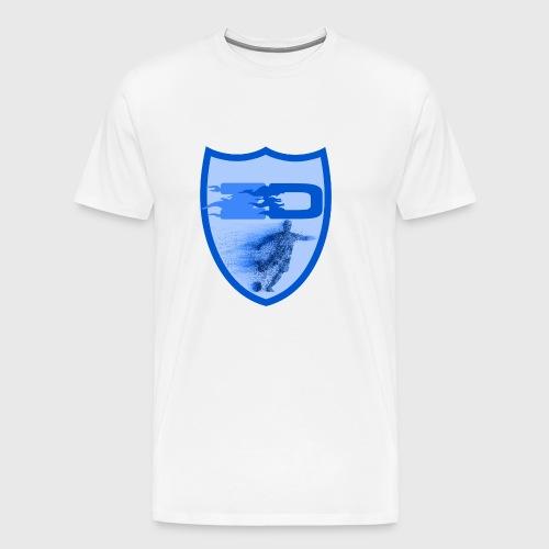 J R Footballers Shield Logo - Men's Premium T-Shirt