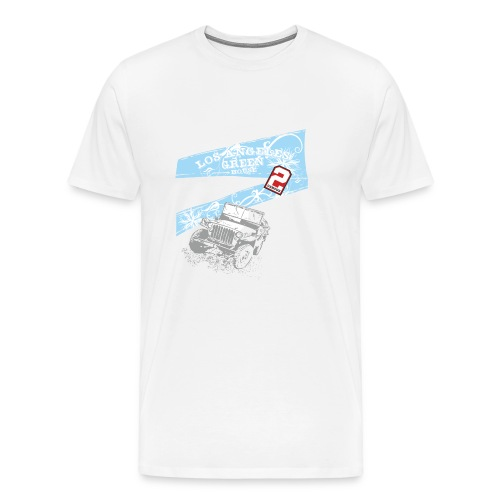 Los angeles greenhouse - Männer Premium T-Shirt