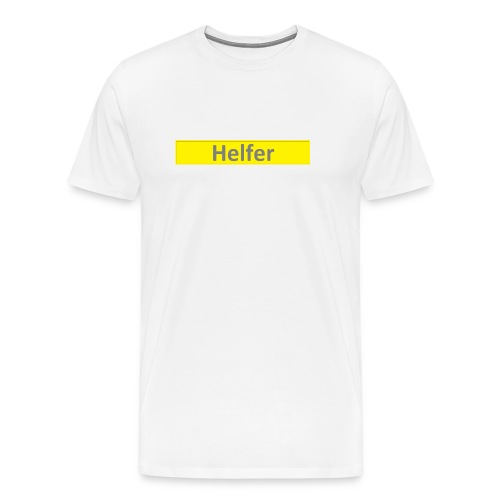 Helfer Logo 1 - Männer Premium T-Shirt