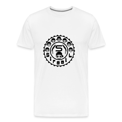 rawstyles rap hip hop logo money design by mrv - Koszulka męska Premium
