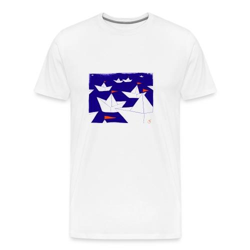 Segelboote - Männer Premium T-Shirt