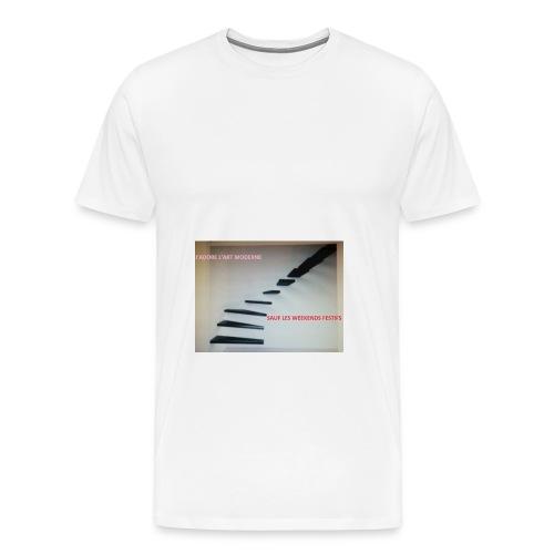 escalier MODERNES les JOURS de FETES - T-shirt Premium Homme