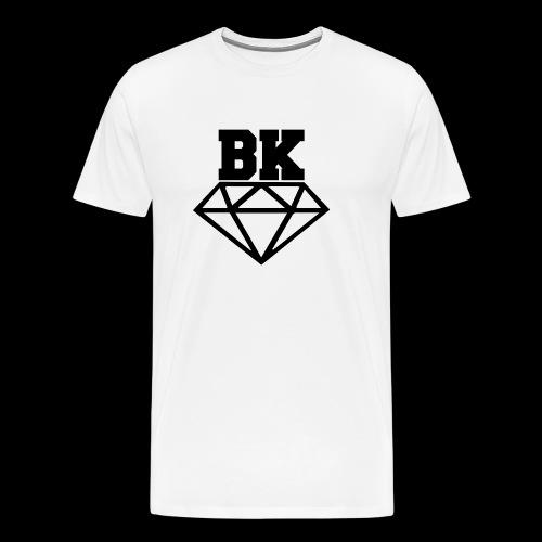 Brakka Diamond - Mannen Premium T-shirt