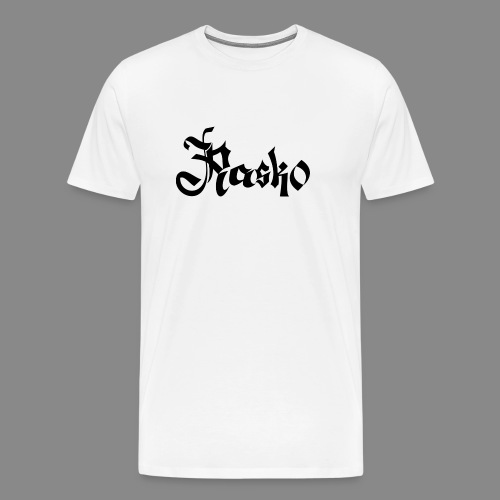 Rasko Calligraphy 1 - Männer Premium T-Shirt