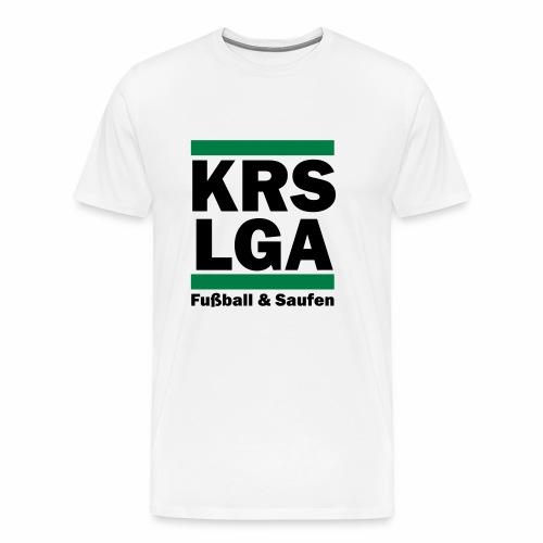 Das original Kreisliga Shirt KRSLGA - Männer Premium T-Shirt
