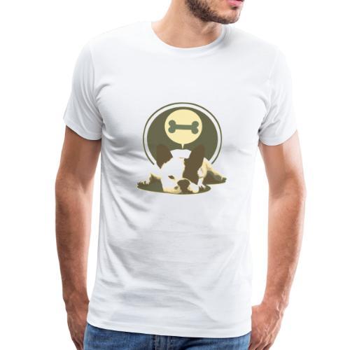 Lazy Dog - Männer Premium T-Shirt
