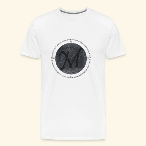 Montis logo2 - Premium-T-shirt herr