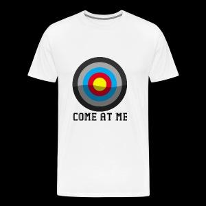 Come At Me - Herre premium T-shirt
