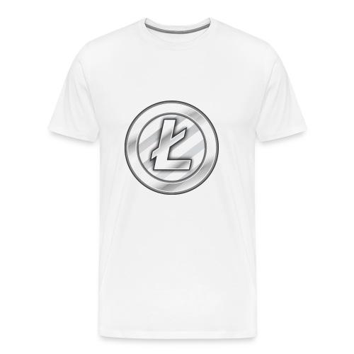 Litecoin T-shirt - Premium-T-shirt herr